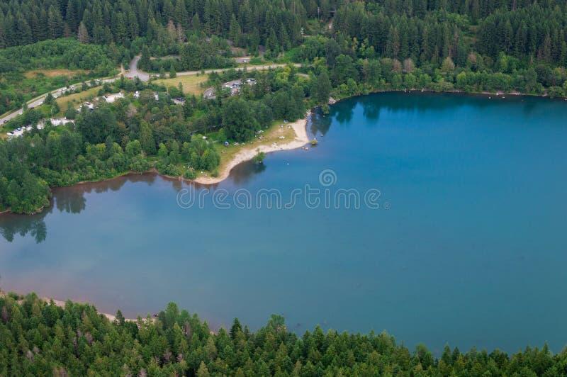 Lago rattlesnake foto de stock