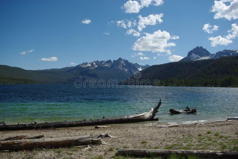 Lago redfish, Idaho fotos de archivo