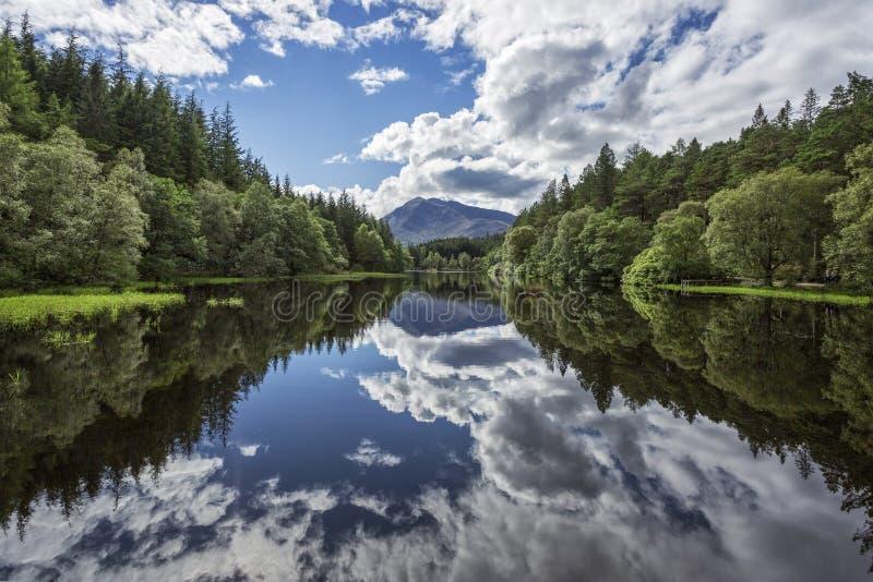 Lago reflexivo fotos de stock royalty free