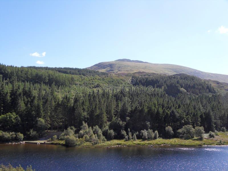 Lago Regno Unito wales immagine stock