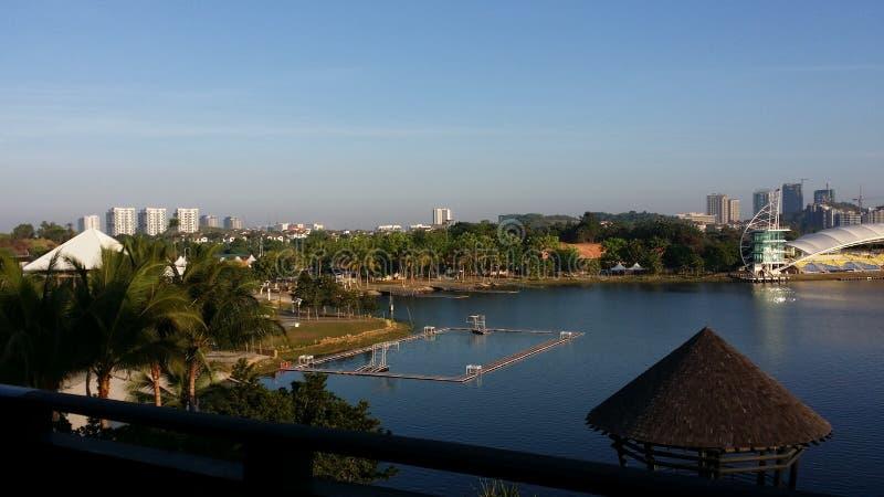 Lago resort do Pullman de Putrajaya foto de stock