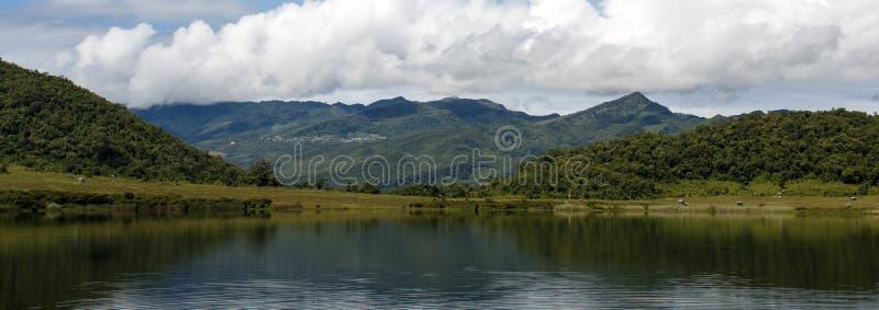 Lago Rhi, Myanmar (Birmania) imágenes de archivo libres de regalías