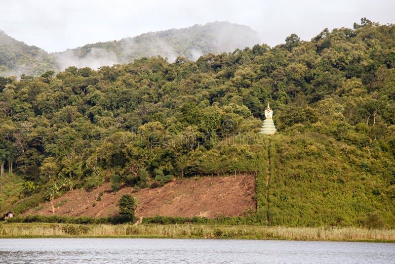 Lago Rhi, Myanmar (Birmania) imagenes de archivo