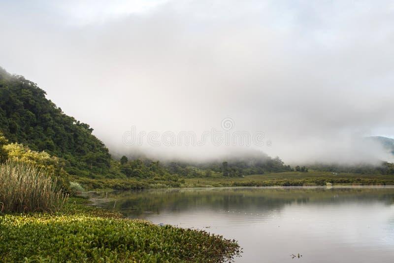 Lago Rhi, Myanmar (Birmania) fotografía de archivo