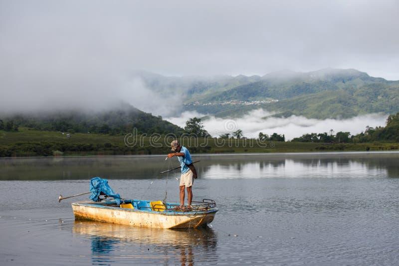 Lago Rhi, Myanmar (Burma) imagens de stock royalty free