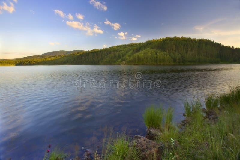 Lago Ribnicko, Zlatibor 3 immagine stock libera da diritti