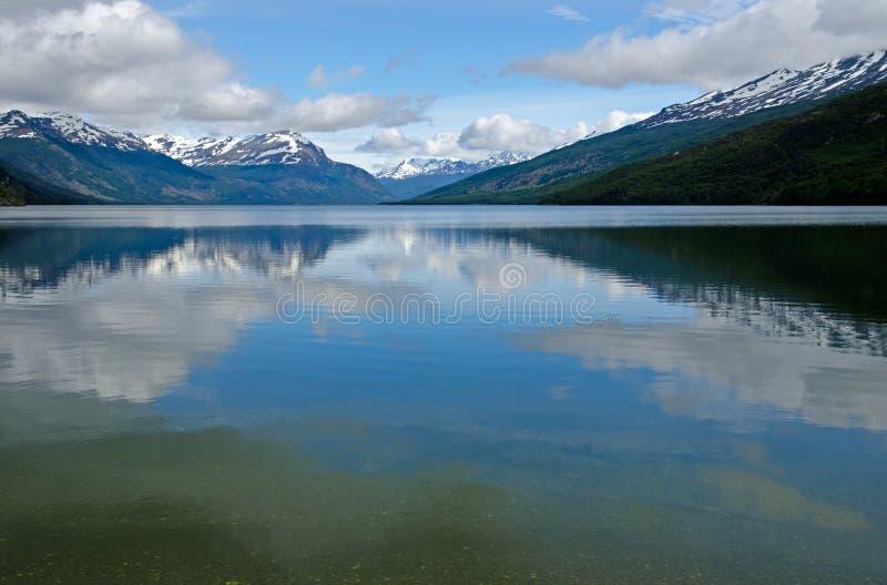 Lago Roca, Tierra Del Fuego park narodowy, Ushuaia, Patagonia, zdjęcia royalty free