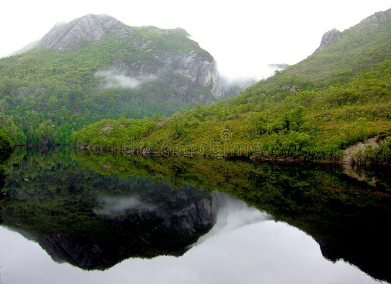 Lago Rosebery imagenes de archivo