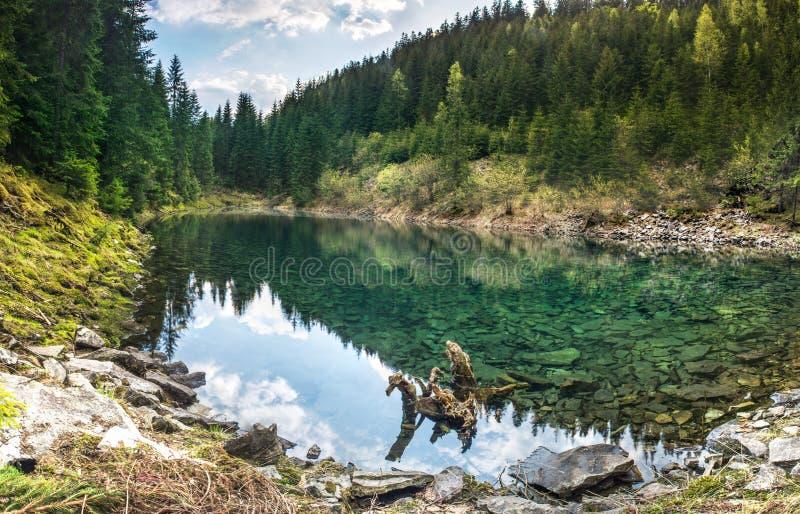 Lago Rosohan foto de archivo