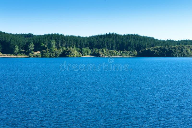 Lago Rotoma foto de archivo