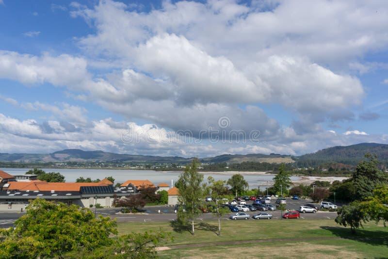 Lago Rotorua fotos de stock royalty free