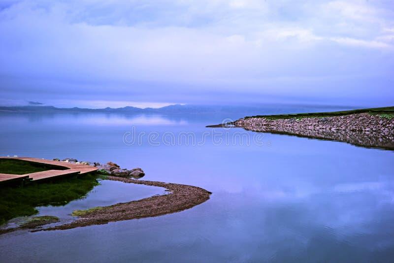 Lago Sailimu fotos de archivo