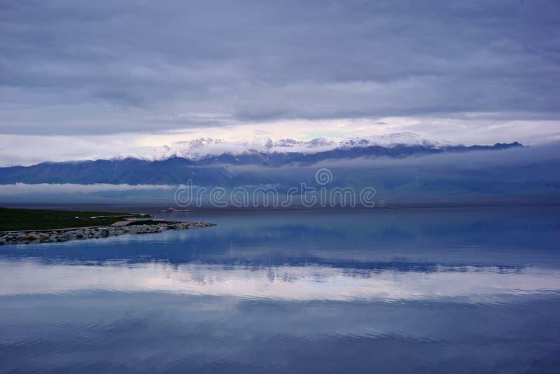 Lago Sailimu imágenes de archivo libres de regalías