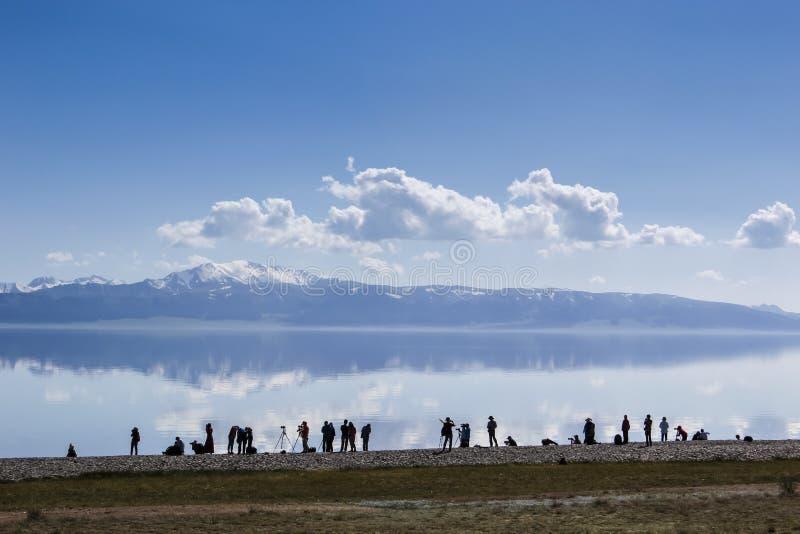 Lago Sailimu imagens de stock royalty free