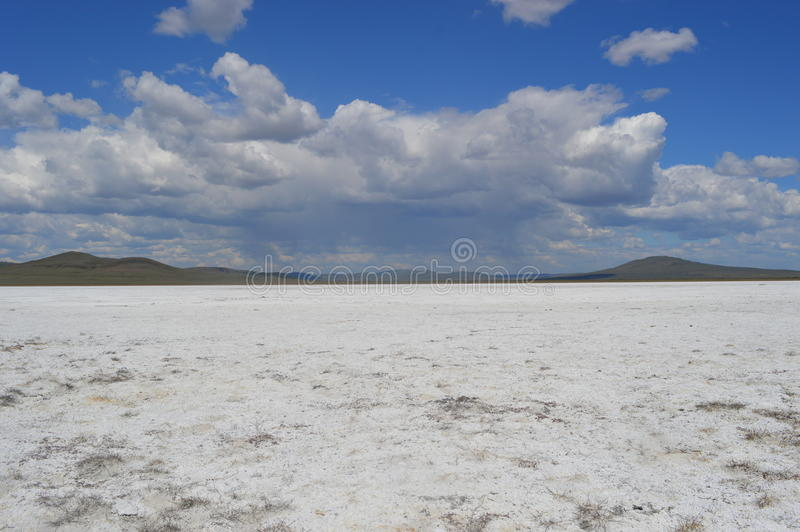Lago salgado heavens fotos de stock royalty free