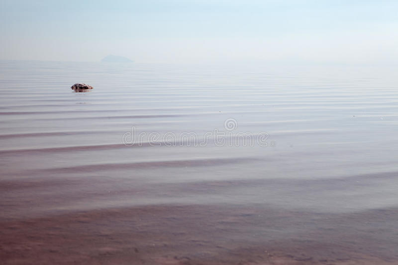 Lago salt fotografia stock libera da diritti