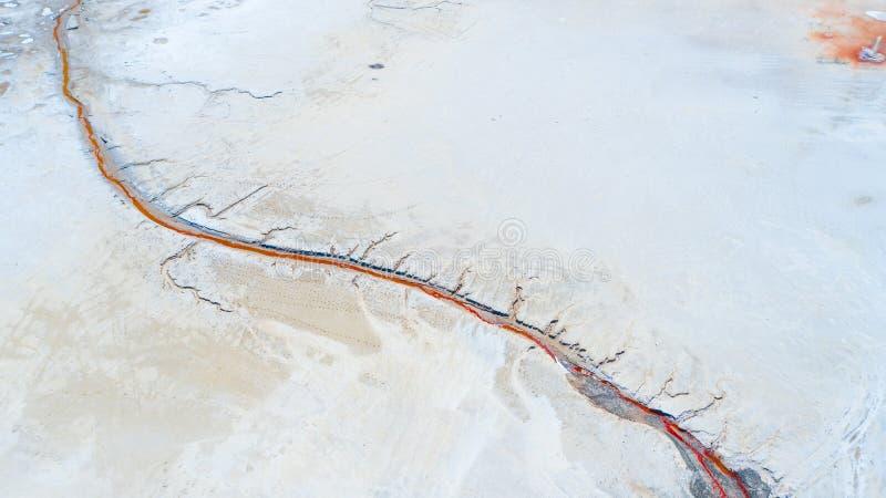 Lago salt Baskunchak regi?o de Astrac? Paisagem do russo imagens de stock