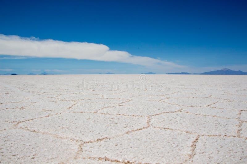 Lago salt Bolivia imagen de archivo