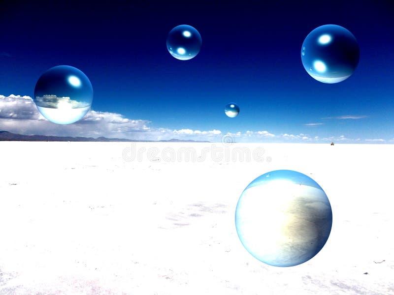 Lago salt en Bolivia Salar de Uyuni foto de archivo libre de regalías