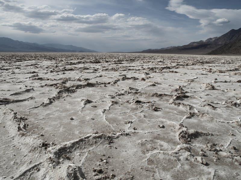 Lago salt en Death Valley imágenes de archivo libres de regalías
