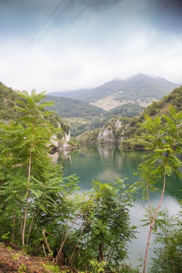 Lago San Domenico immagini stock