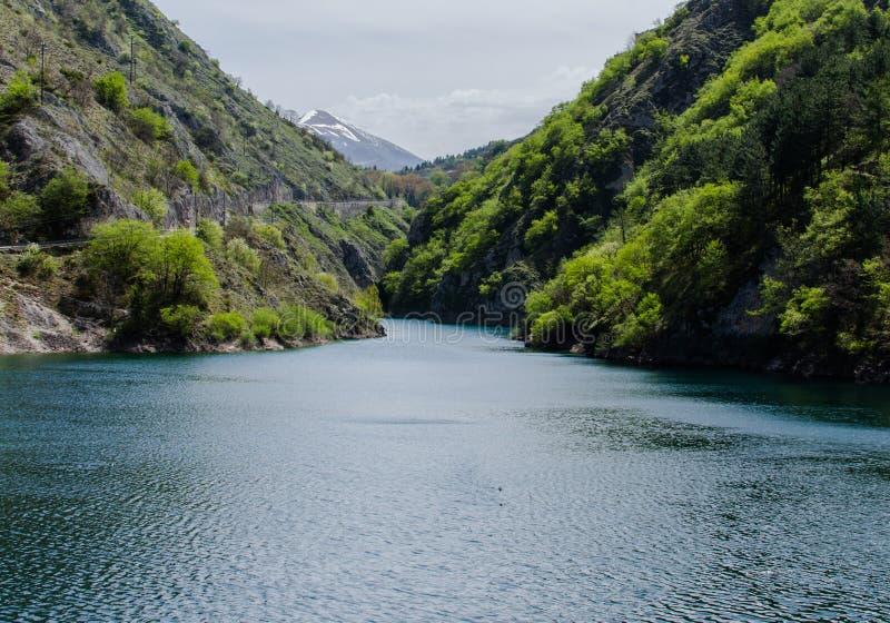 Lago San Domingo, Italia fotografía de archivo
