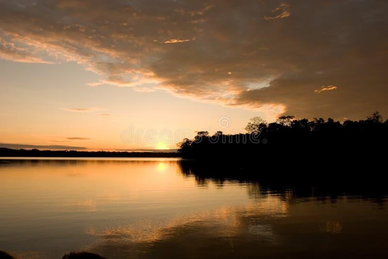 Lago Sandoval imagens de stock royalty free