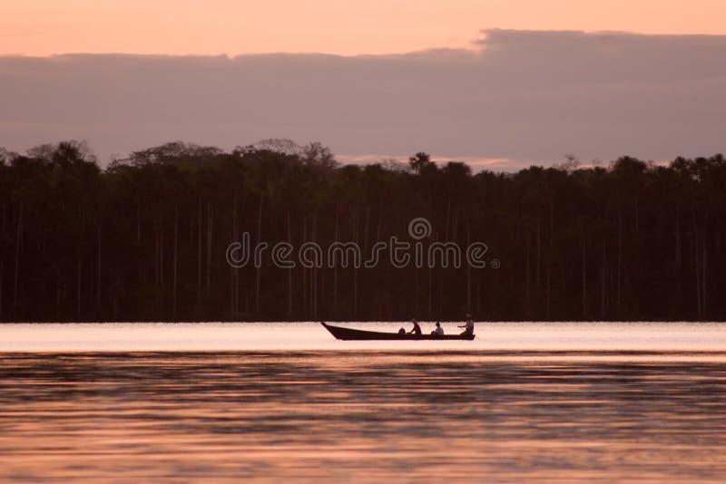 Lago Sandoval imagem de stock