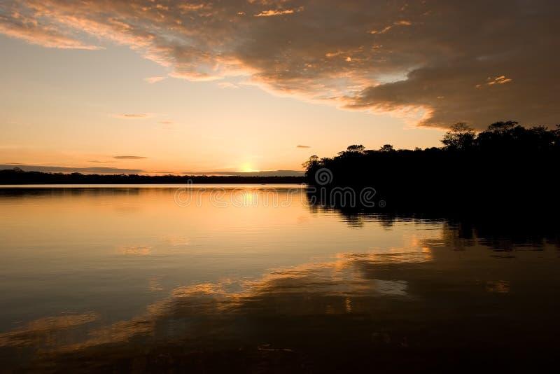 Lago Sandoval imagens de stock