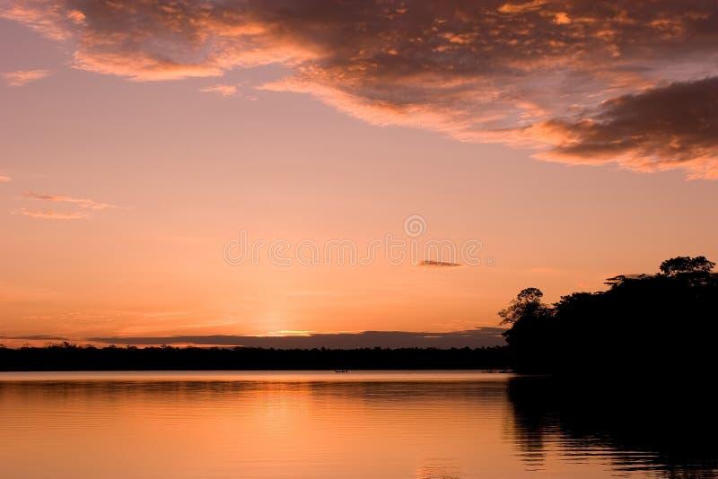 Lago Sandoval foto de stock royalty free