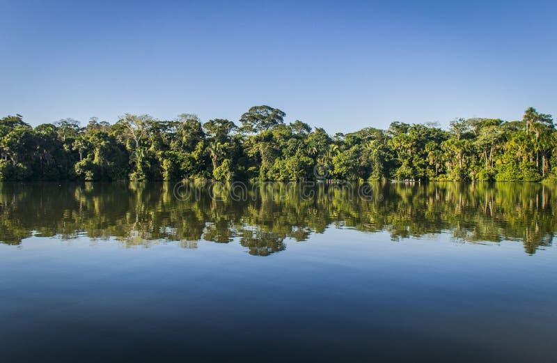 Lago Sandoval fotografia de stock