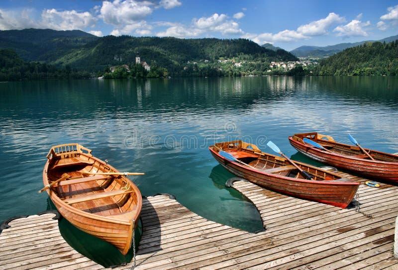 Lago sangrado, Eslovenia imágenes de archivo libres de regalías