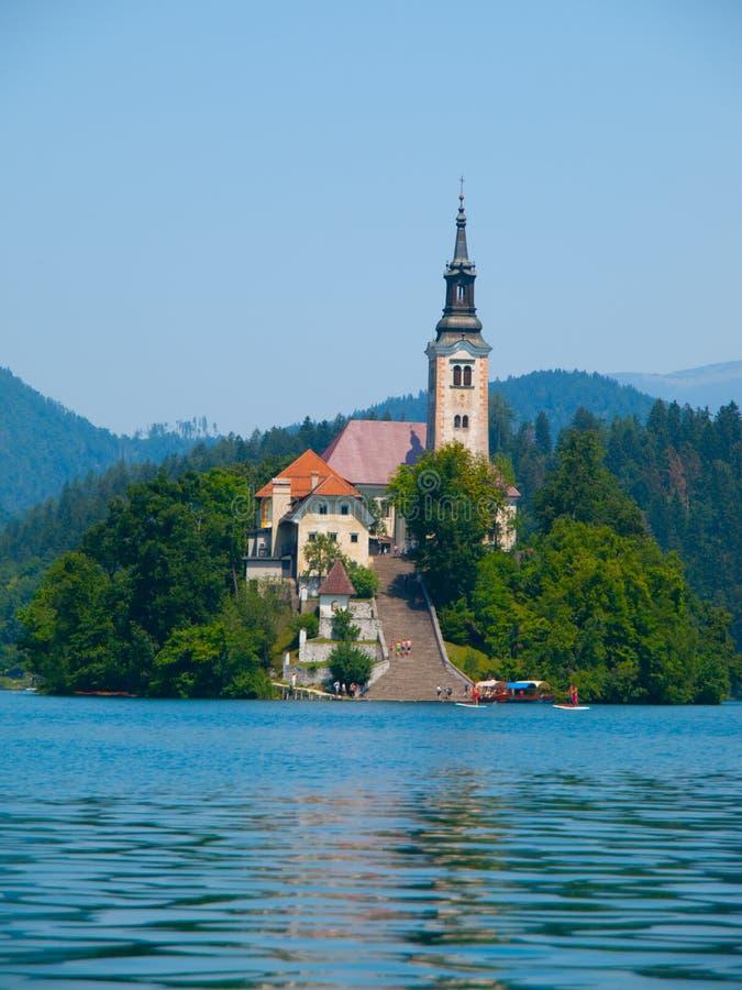 Download Lago Sanguinato Con L'isola E La Chiesa Fotografia Editoriale - Immagine di limite, europa: 56884301