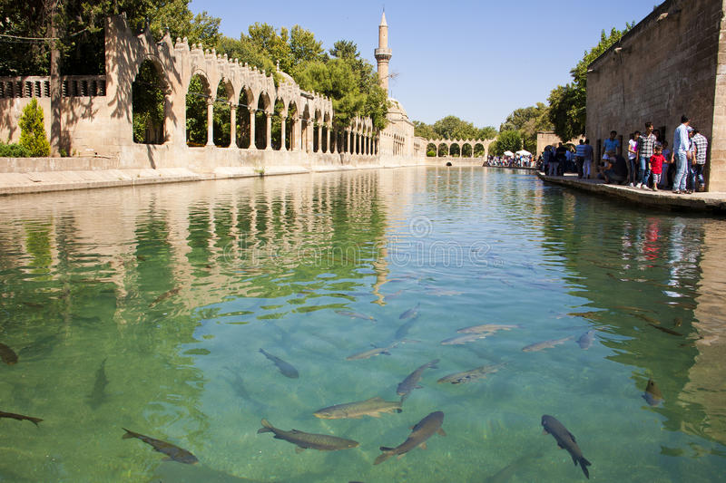 Lago santamente, Turquia imagem de stock royalty free