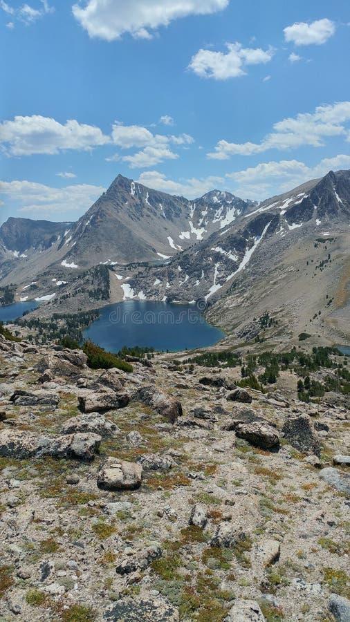 Lago saphire fotografie stock libere da diritti