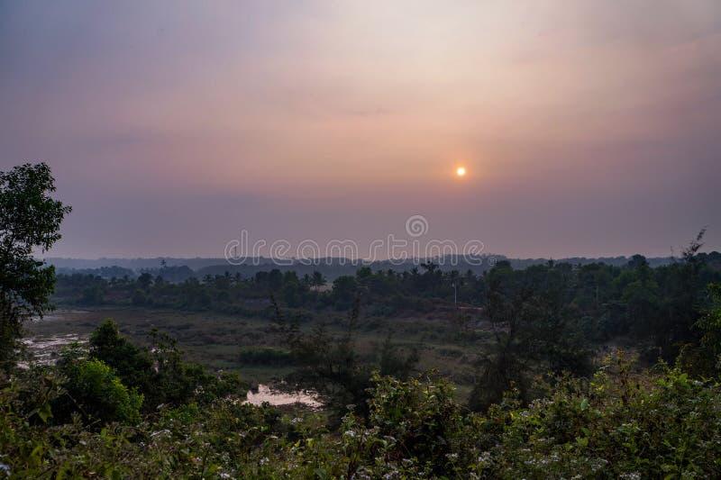 Lago Sasthamkotta imagem de stock royalty free