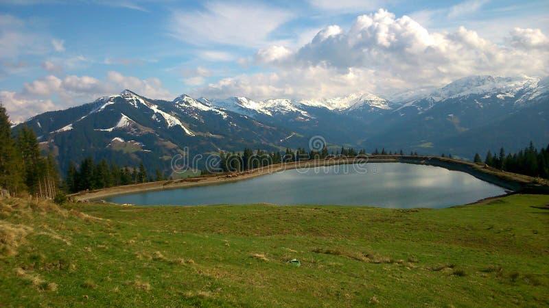 Lago Scilent fotografía de archivo
