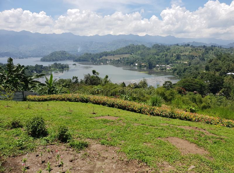 Lago Sebu Sarangani Mindanao, Filipinas imagens de stock royalty free