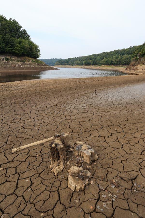 Lago senz'acqua immagine stock libera da diritti