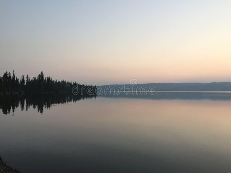 Lago serenity fotos de archivo libres de regalías