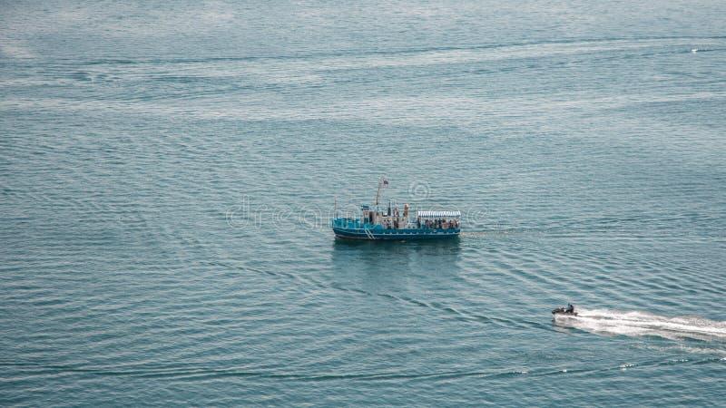 Lago Sevan em Arménia imagem de stock royalty free
