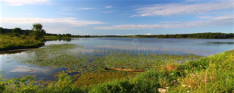 Lago Shabbona - Illinois fotografia stock