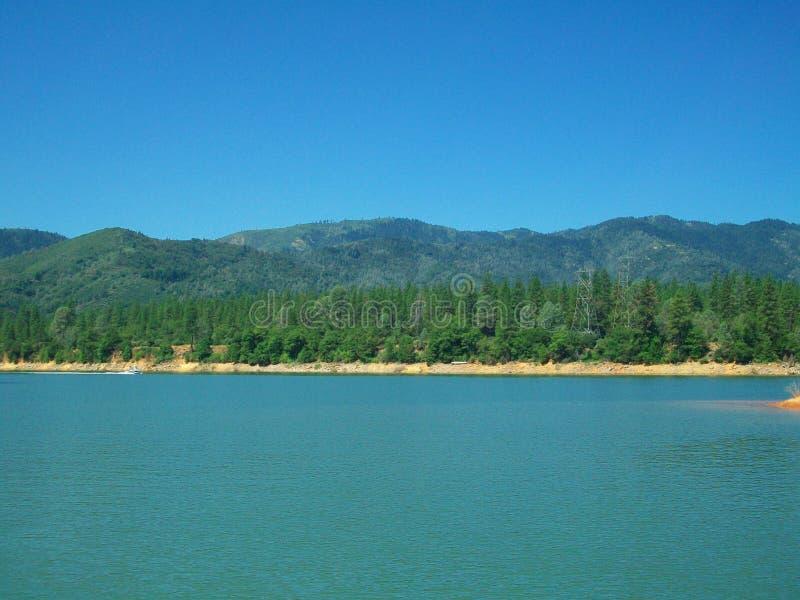 Lago Shasta Califórnia fotos de stock royalty free
