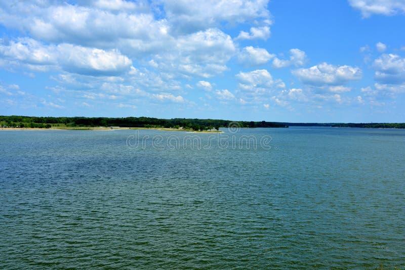 Lago Shelbyville, Illinois imagens de stock royalty free