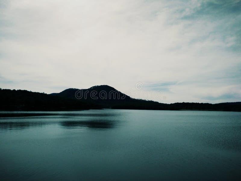 Lago silencioso imagens de stock