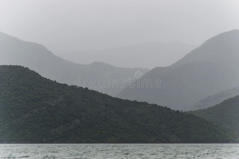 Lago Skadar fotos de archivo
