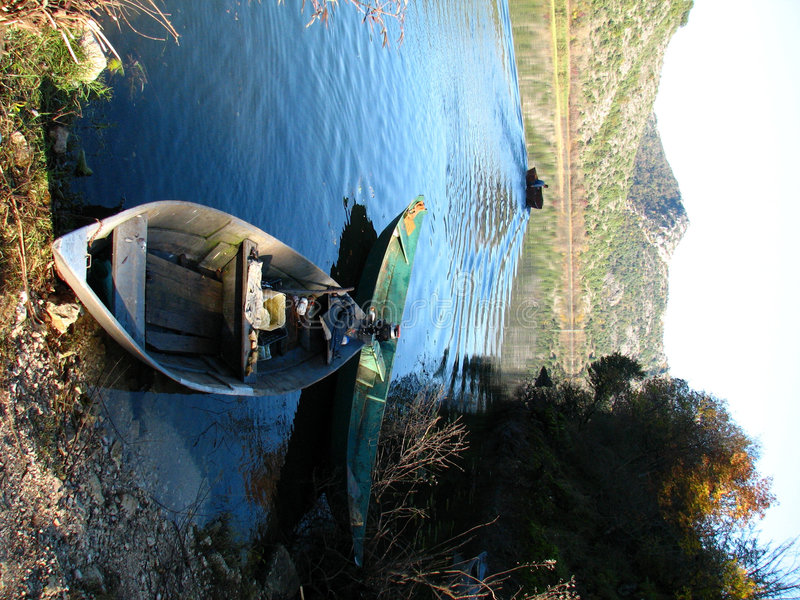 Lago Skadar - Montenegro fotografie stock libere da diritti