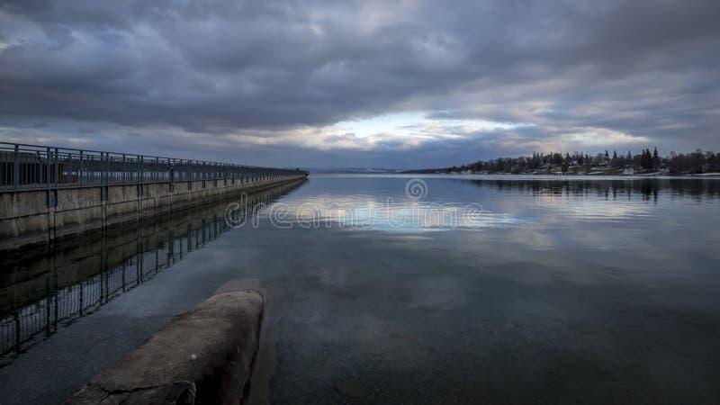Lago Skaneateles imágenes de archivo libres de regalías