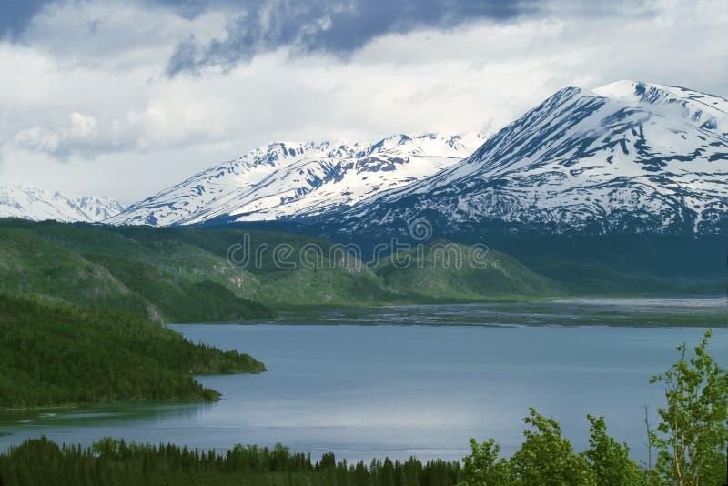 Lago Skilak imagens de stock royalty free