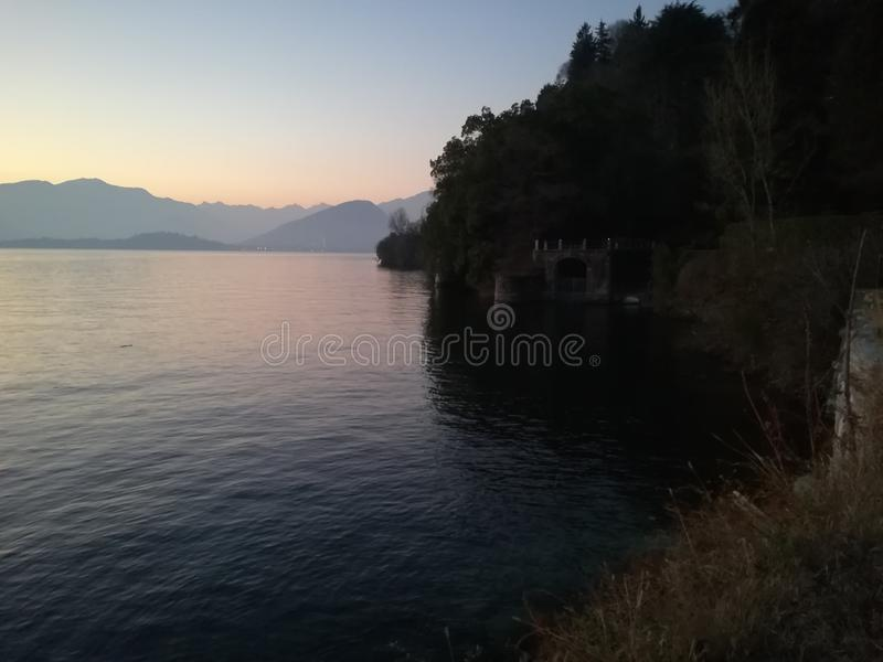 Lago sky fotos de archivo libres de regalías